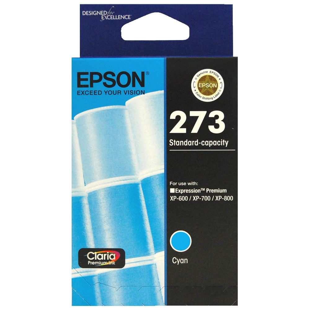 Epson 273 Black - Click Image to Close